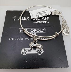 NWT Alex and Ani Monopopy Car bangle